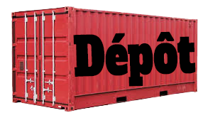 conteneur dépôt