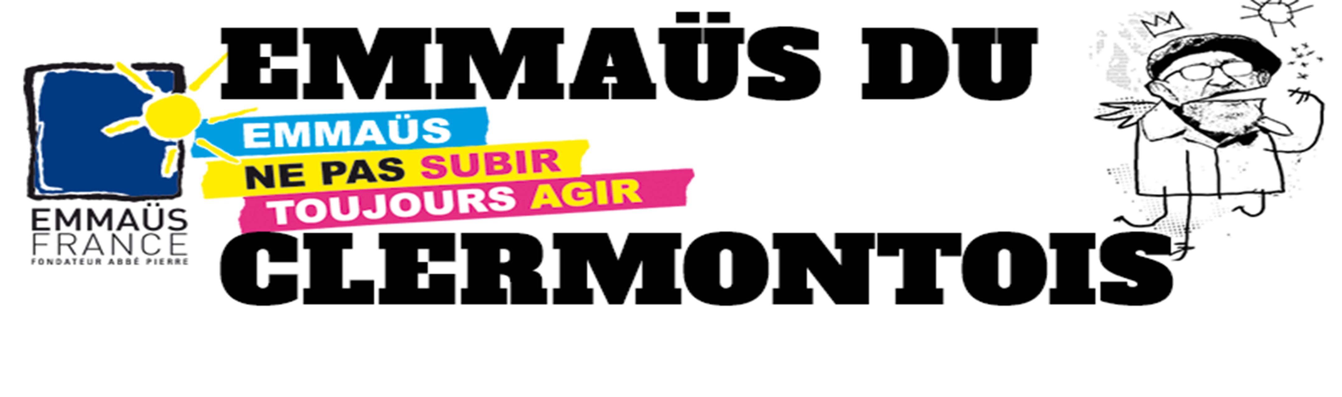 logo de la communauté emmaûs du clermontois